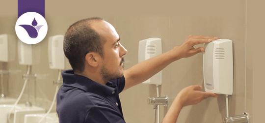 Sistema de higiene - desodorización de baños